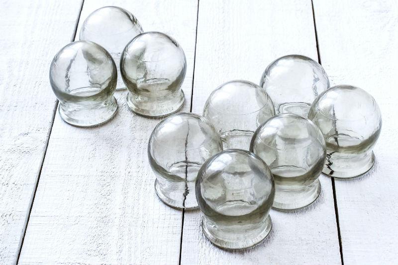 כוסות רוח מזכוכית