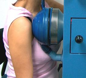 טיפול בגלי הלם בכתף קפואה