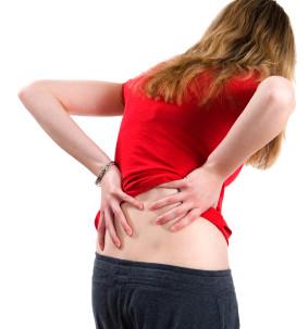 כאבי גב תחתון חזקים