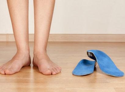 איזון כף הרגל באמצעות מדרסים